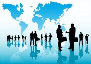 بازرگانی، مکاتبات و مکالمات خارجی