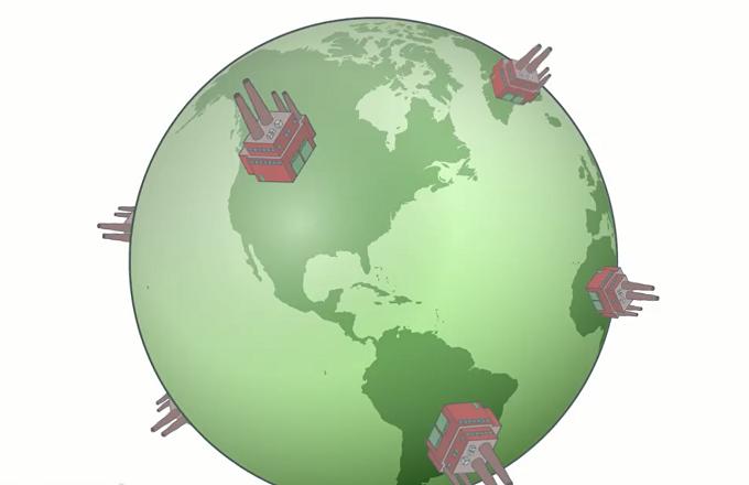 دگرگونیهای ساختاری در فرآیند جهانی شدن
