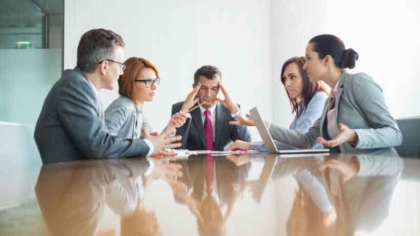تعارض درسازمان ها و گروه های کاری