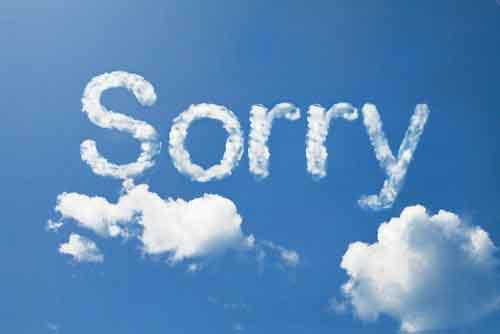 عذرخواهی-کردن