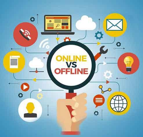 بازاریابی آنلاین به آفلاین