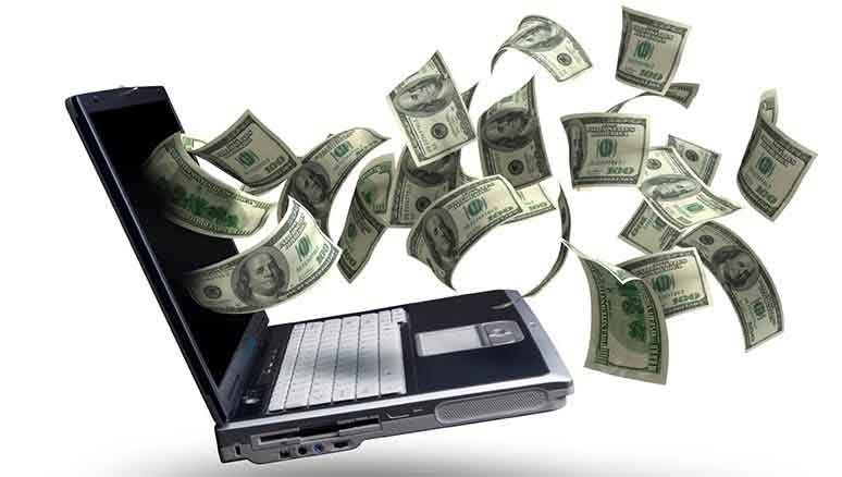 کسب درآمد از فضای مجازی