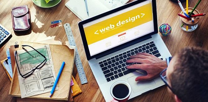 فرآیند طراحی وب سایت توسط یک طراح / توسعه دهنده وب